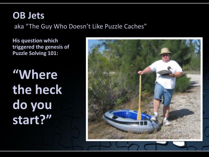 OB Jets