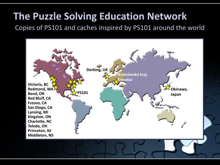 The Puzzle Solving Education Network