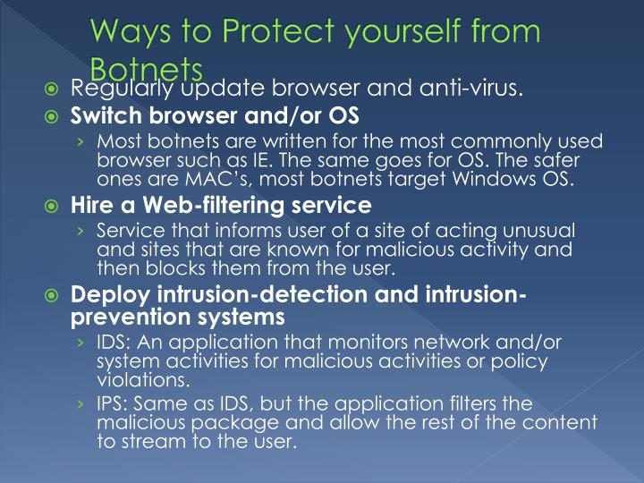 Ways to Protect yourself from