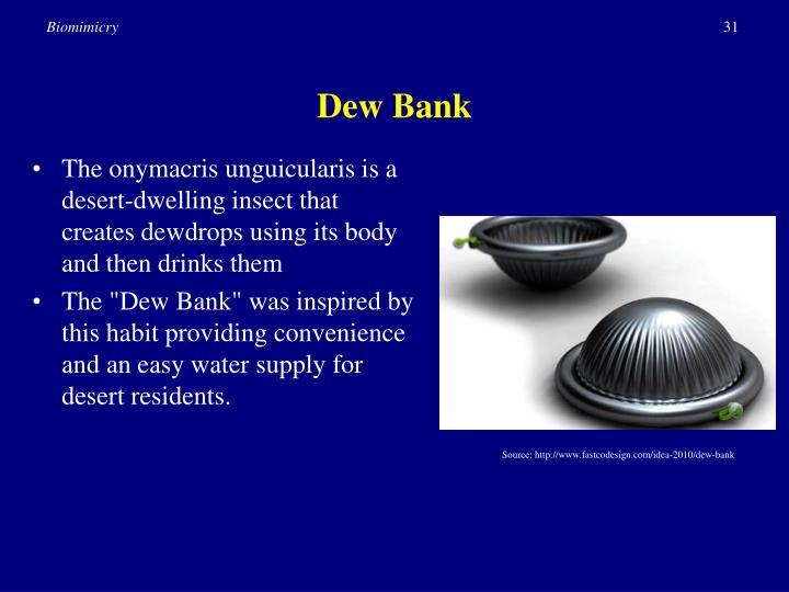 Dew Bank