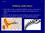 fishbone audio sensor