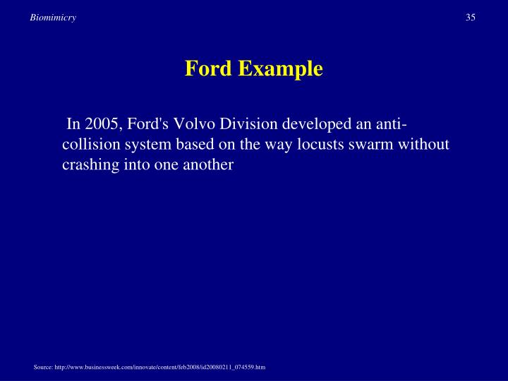 Ford Example