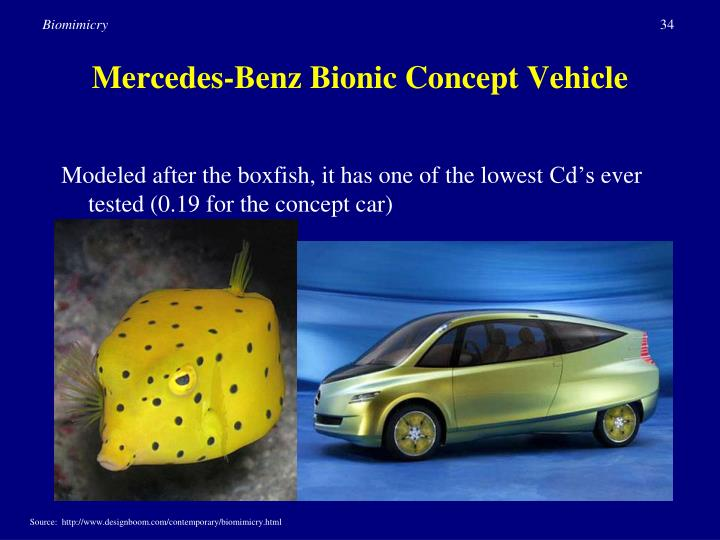 Mercedes-Benz Bionic Concept Vehicle
