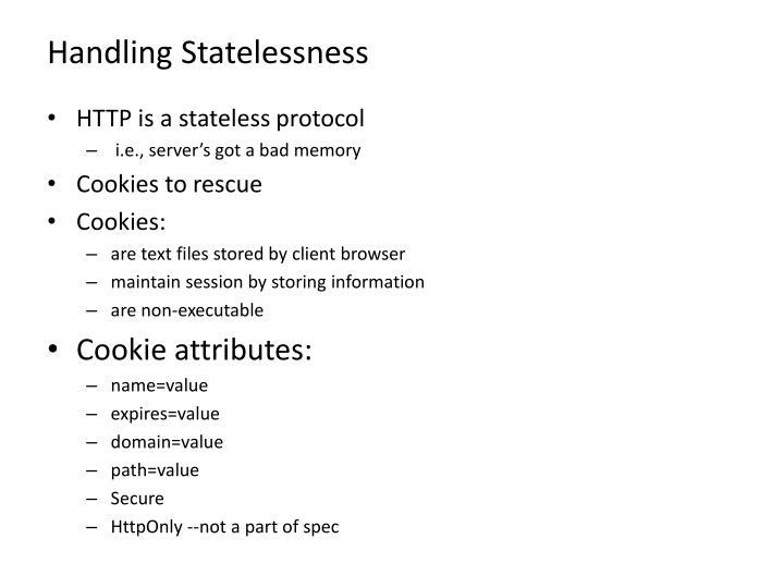 Handling Statelessness