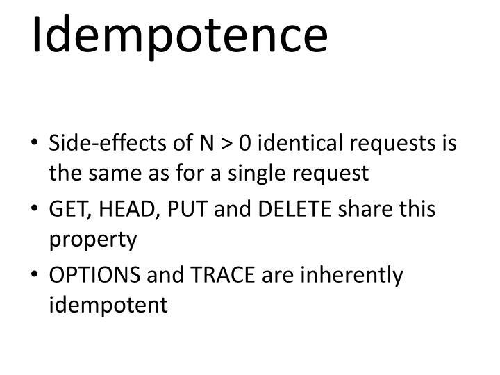 Idempotence