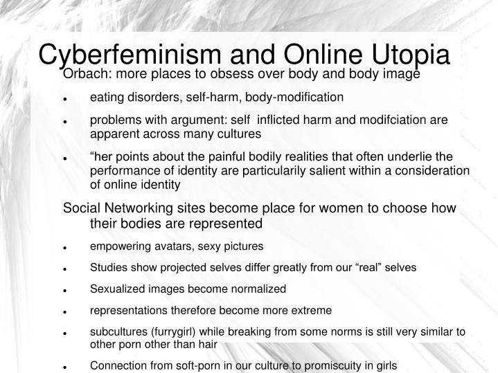 Cyberfeminism and Online Utopia