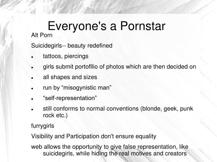 Everyone's a Pornstar