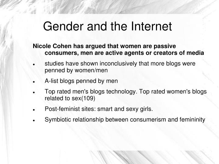 Gender and the Internet