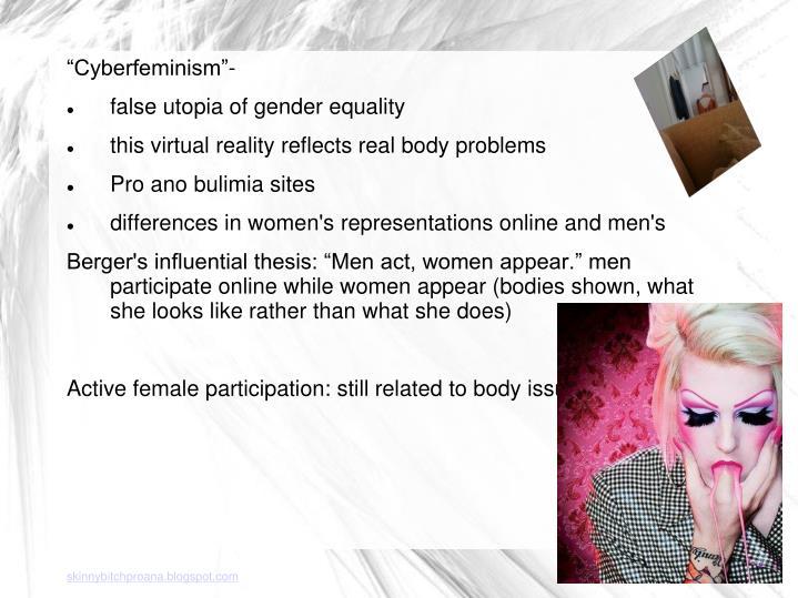 """Cyberfeminism""-"