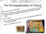 the pornographication of culture2