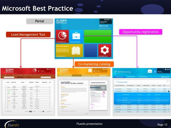 Microsoft Best Practice