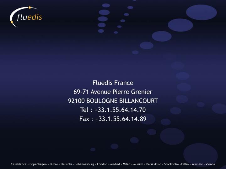 Fluedis France