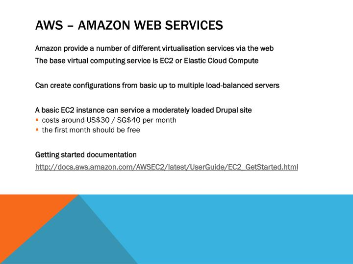 AWS – Amazon Web Services