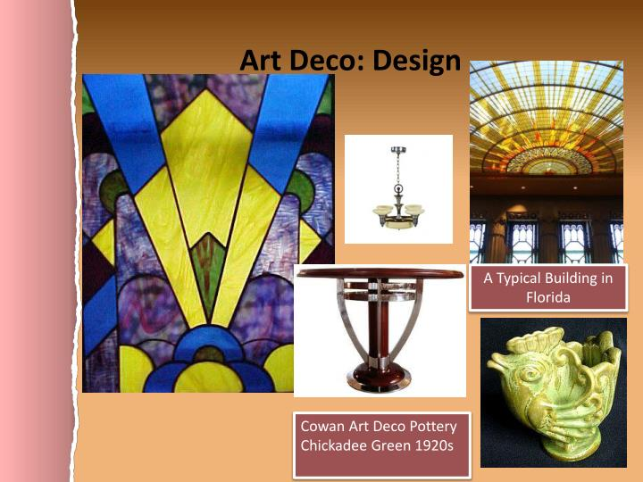 Art Deco: Design