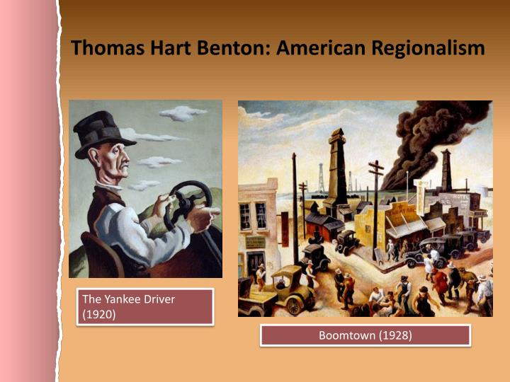 Thomas Hart Benton: American Regionalism