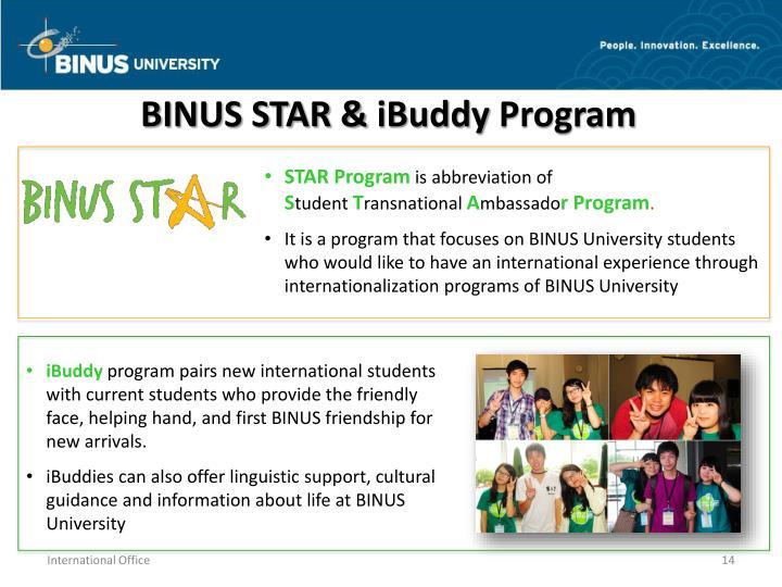 BINUS STAR &