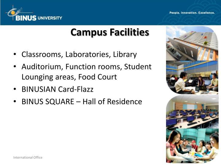 Campus Facilities