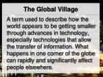 the global village1