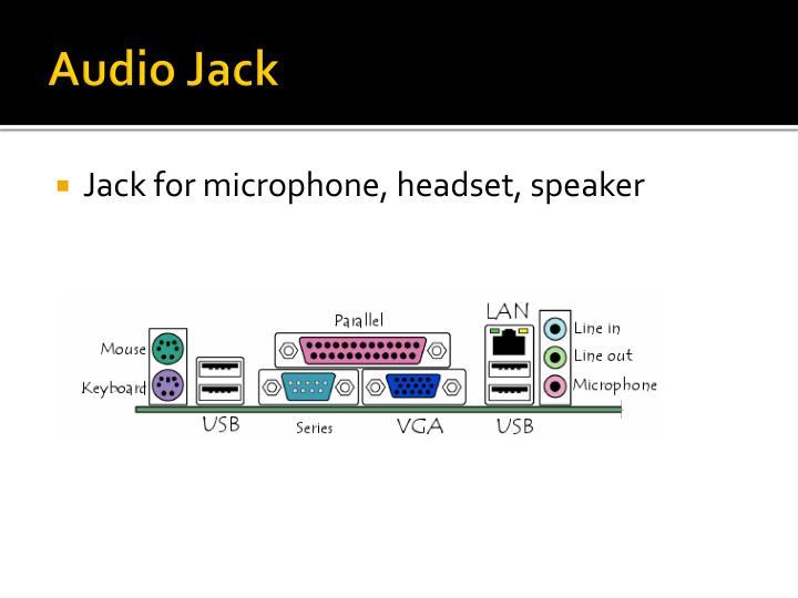 Audio Jack