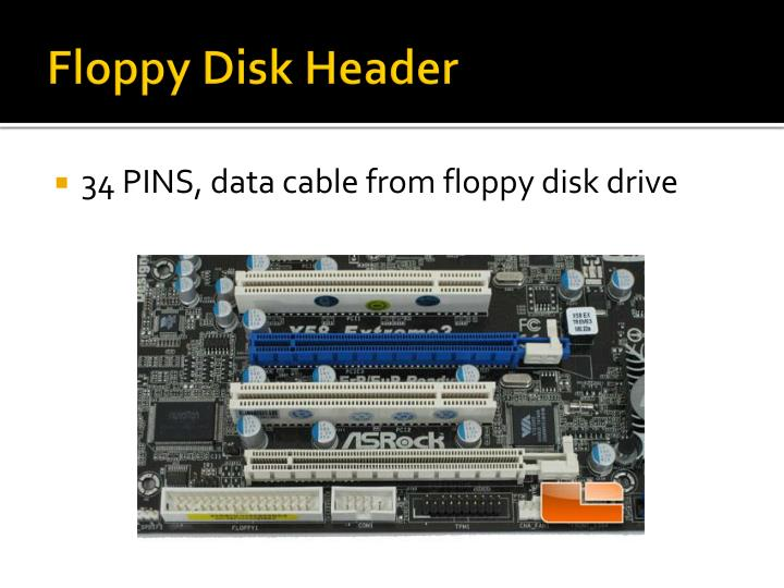 Floppy Disk Header