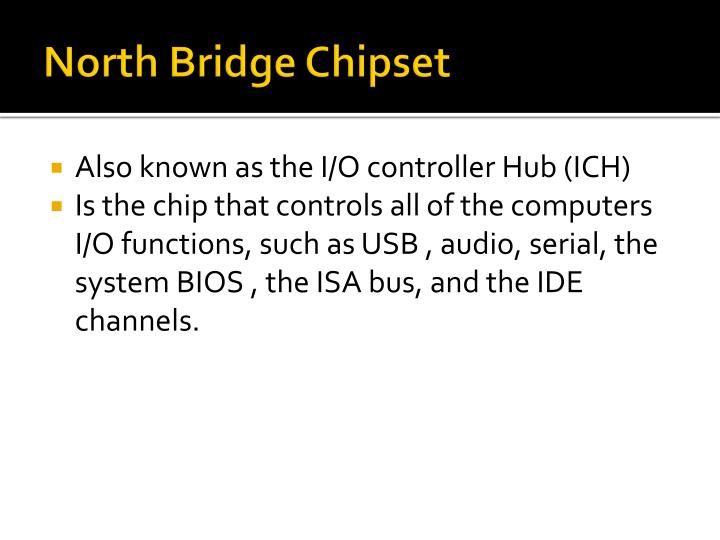 North Bridge Chipset