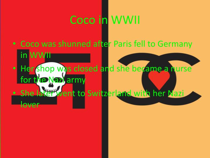 Coco in WWII