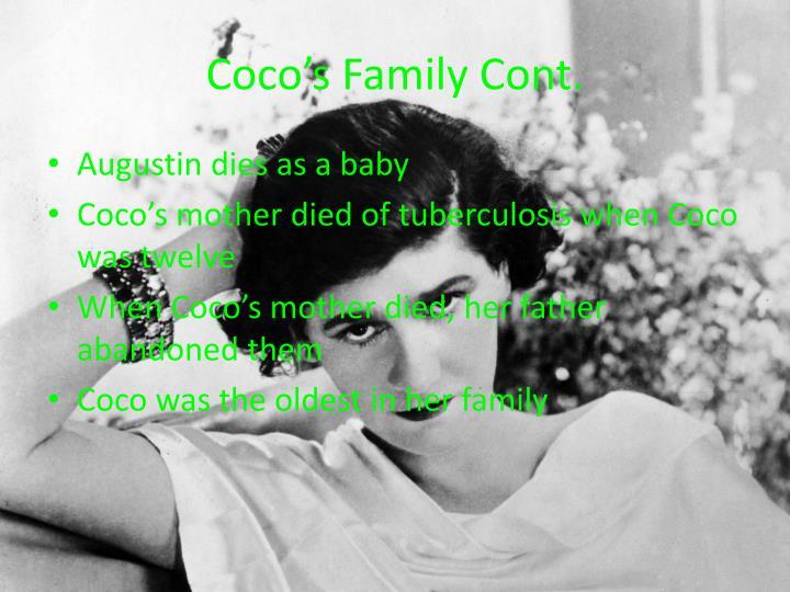 Coco's Family Cont.
