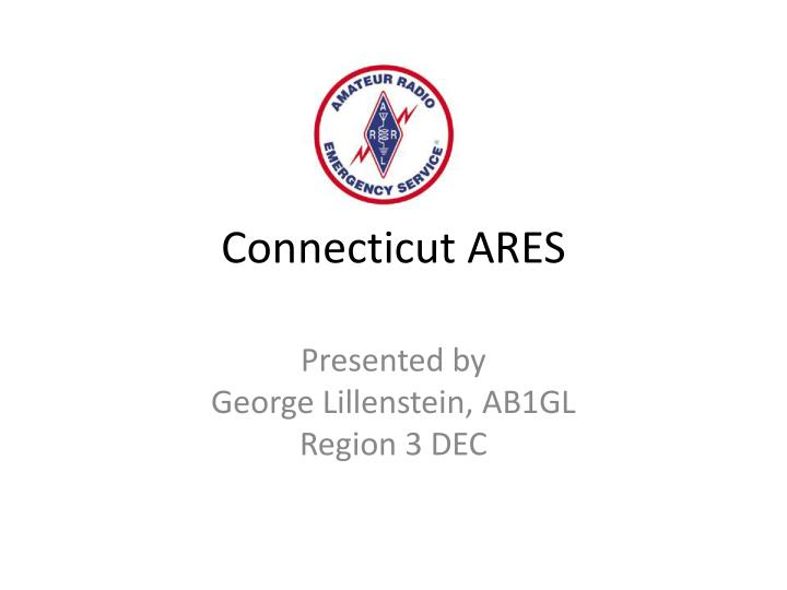 Connecticut ares