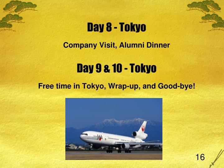 Day 8 - Tokyo