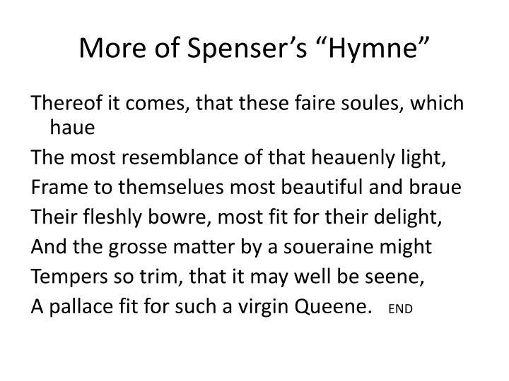 """More of Spenser's """""""