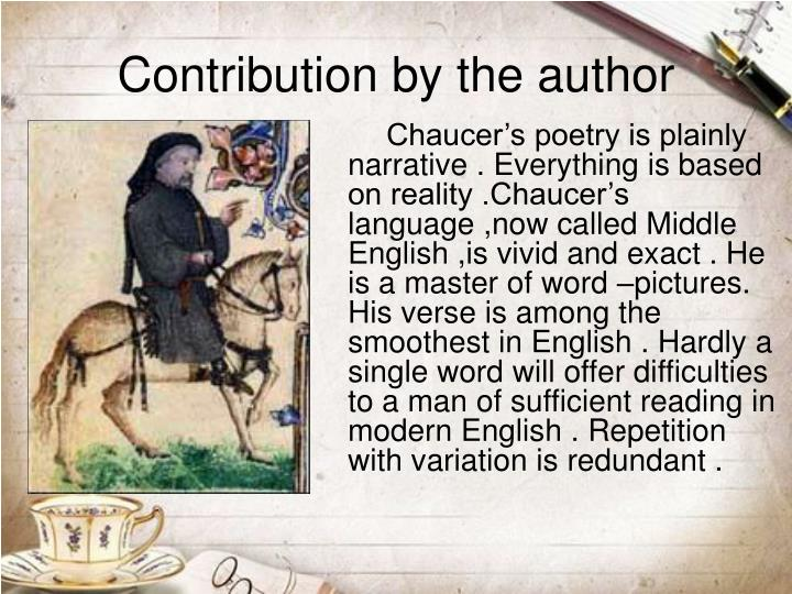 chaucer's social realism Canterbury tales--style, rhetoric, and imagery bloomfield, morton w authenticating realism and the realism of chaucer thought 39 (1964) clarifies the social rank and function of several of chaucer's characters of humble class.
