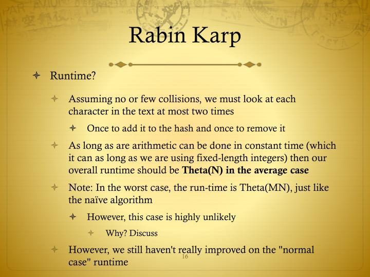 Rabin Karp