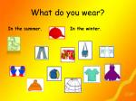 what do you wear