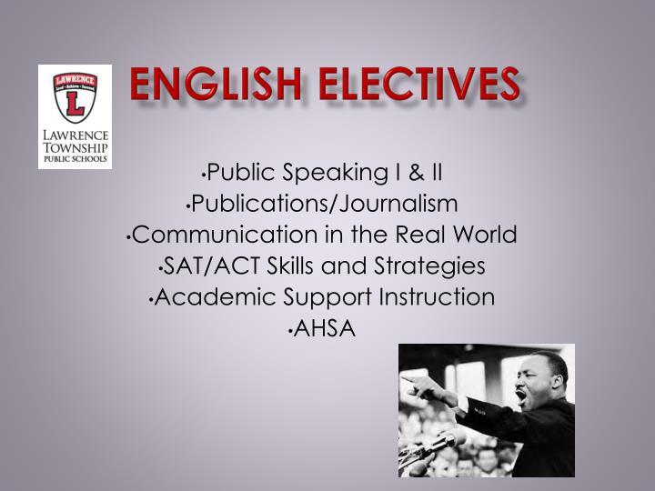 English Electives