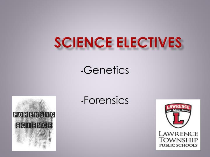 Science Electives