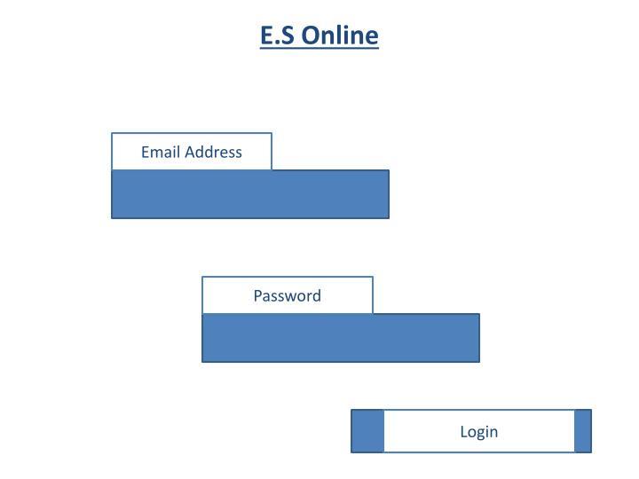 E.S Online
