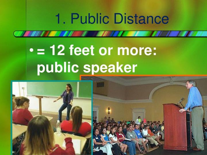 1. Public Distance