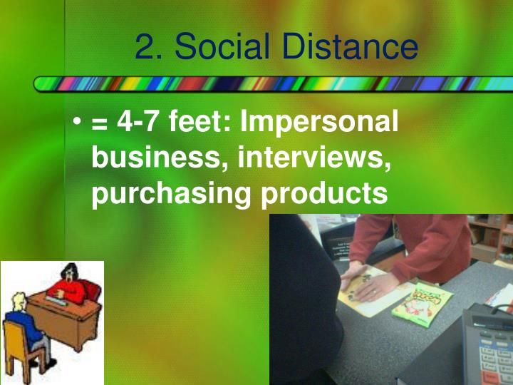 2. Social Distance