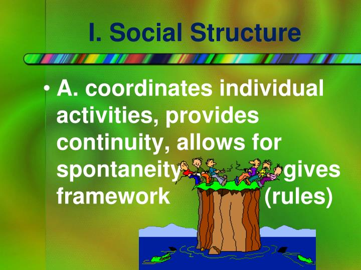I. Social Structure