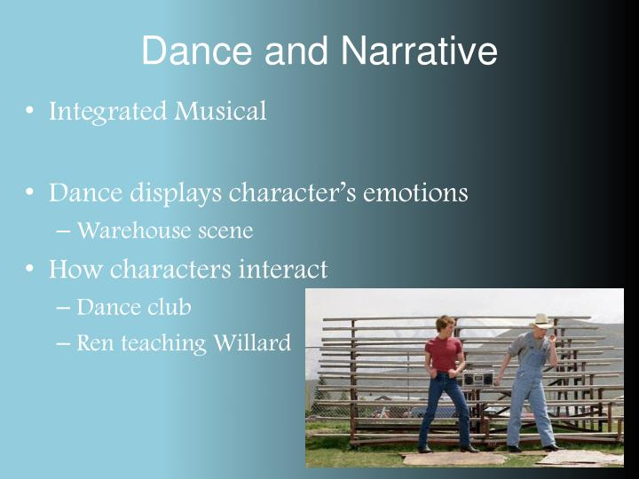 Dance and Narrative