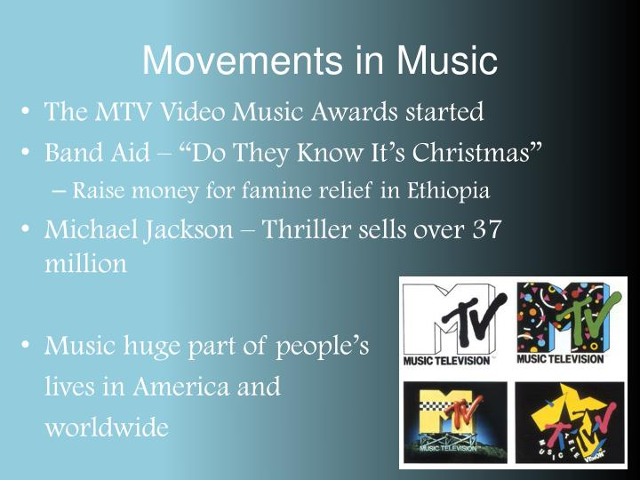 Movements in Music