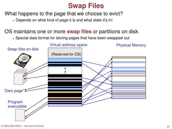 Swap Files