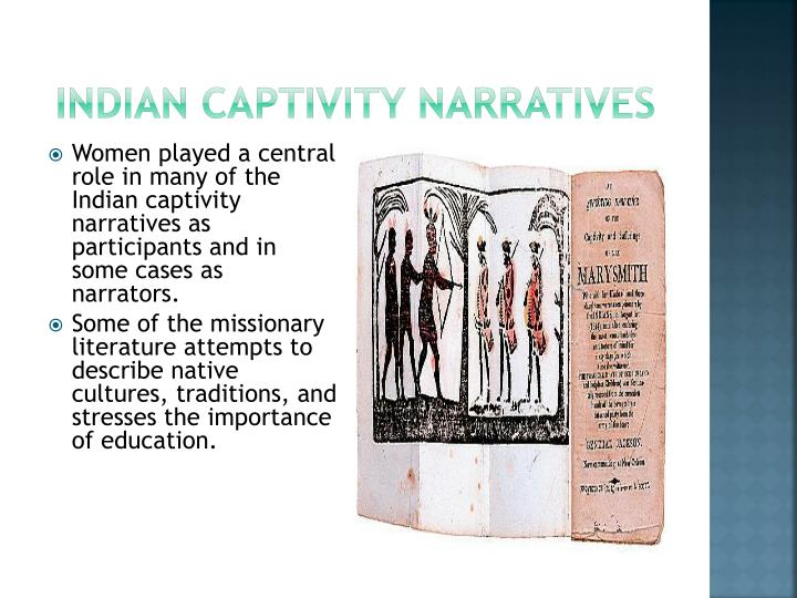 Indian captivity narratives