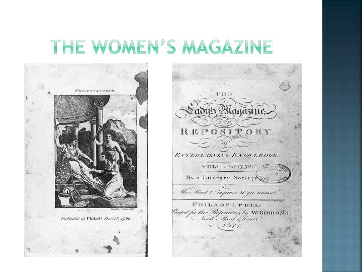 The women's magazine