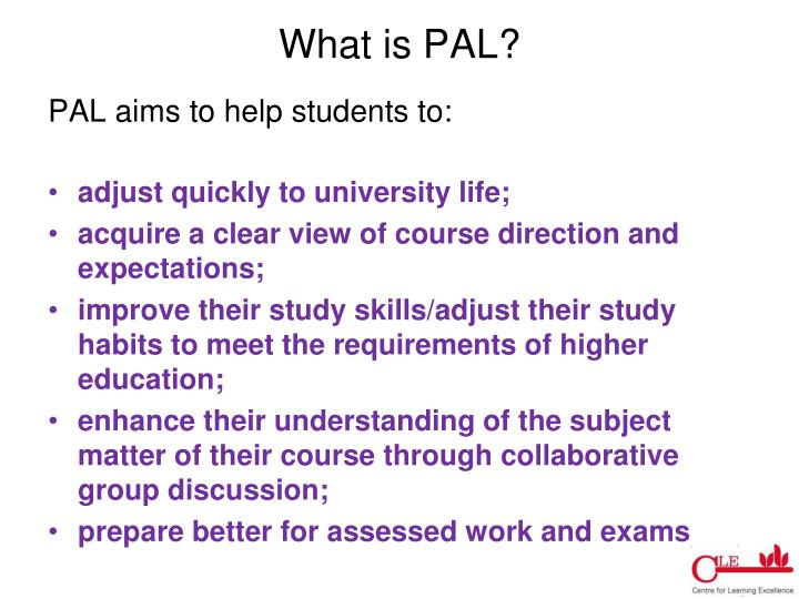 What is PAL?