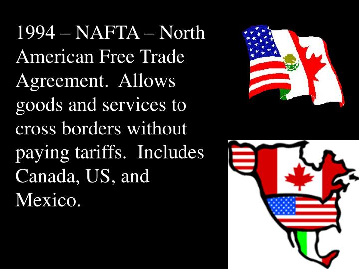 the north american free trade for canadian citizen Compilation of foreign motor vehicle import requirements  the canadian border services agency also  the north american free trade agreement supplanted.