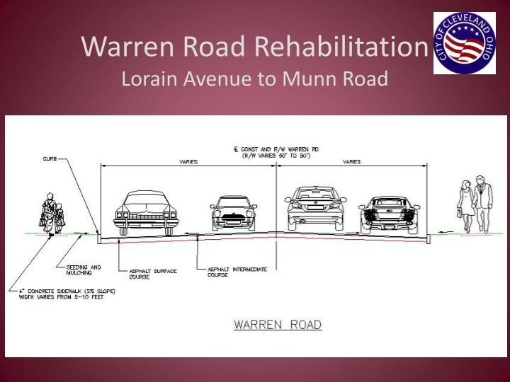 Warren Road Rehabilitation