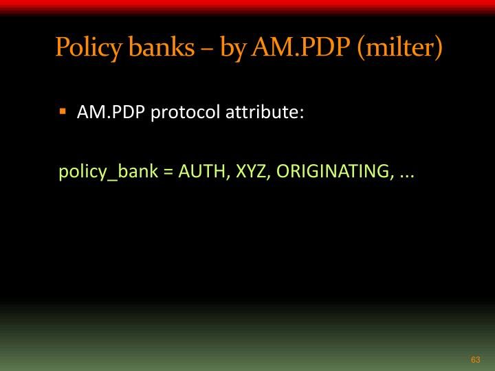 Policy banks – by AM.PDP (