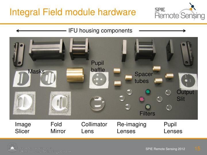 Integral Field module hardware