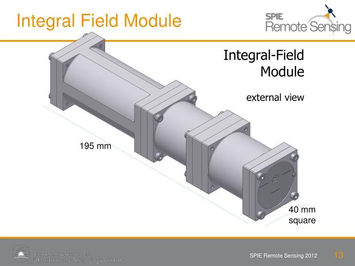 Integral Field Module